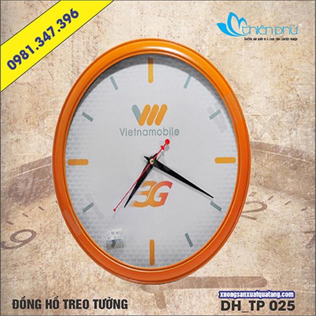 đồng hồ treo tường hình elip; đồng hồ treo tường; đồng hồ treo tường đẹp; đồng hồ treo tường giá rẻ