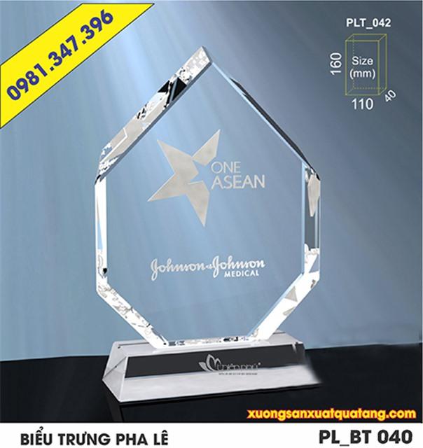 quà tặng pha lê ASEAN