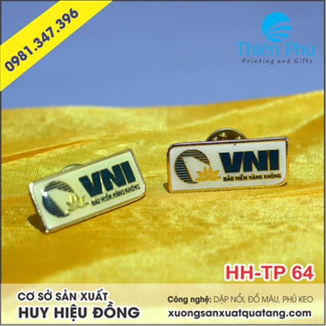 huy hiệu bảo hiểm hàng không VNI