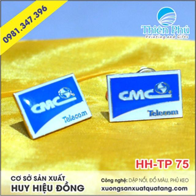 huy hiệu đồng CMC