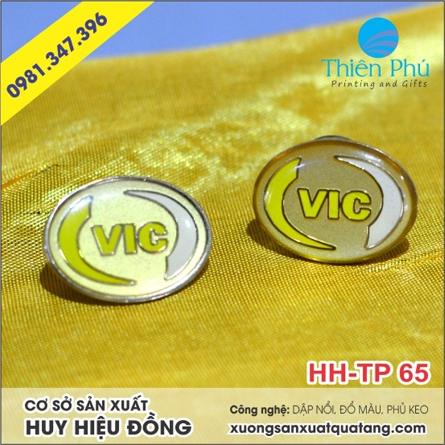 huy hiệu VIC